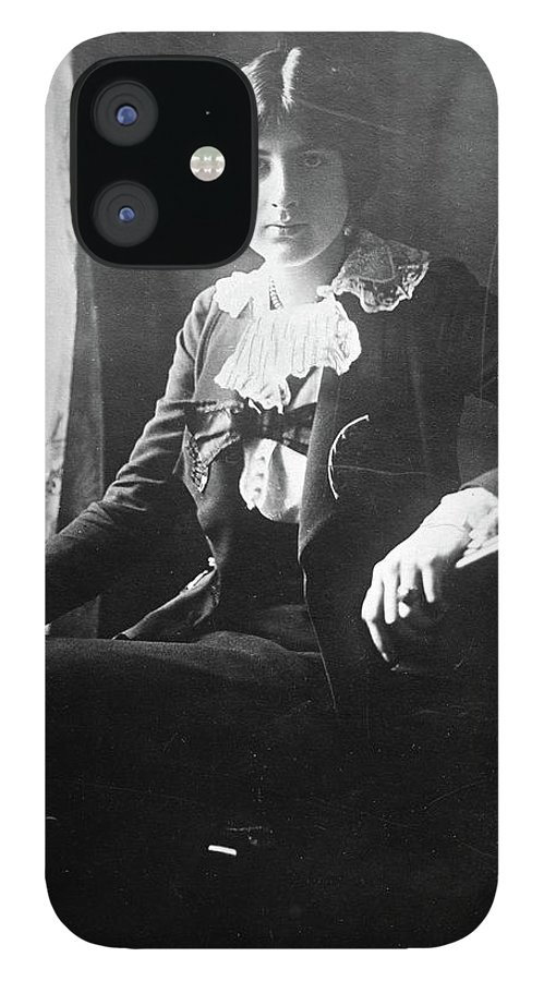 1918 IPhone 12 Case featuring the photograph Lili Boulanger (1893-1918) by Granger