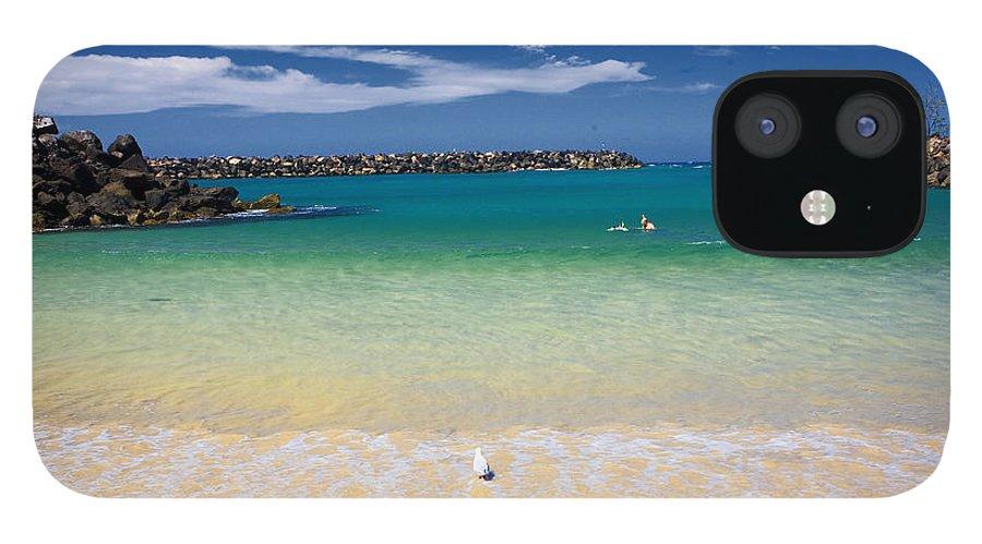 Little Beach iPhone 12 Case featuring the photograph Little Beach by Sheila Smart Fine Art Photography