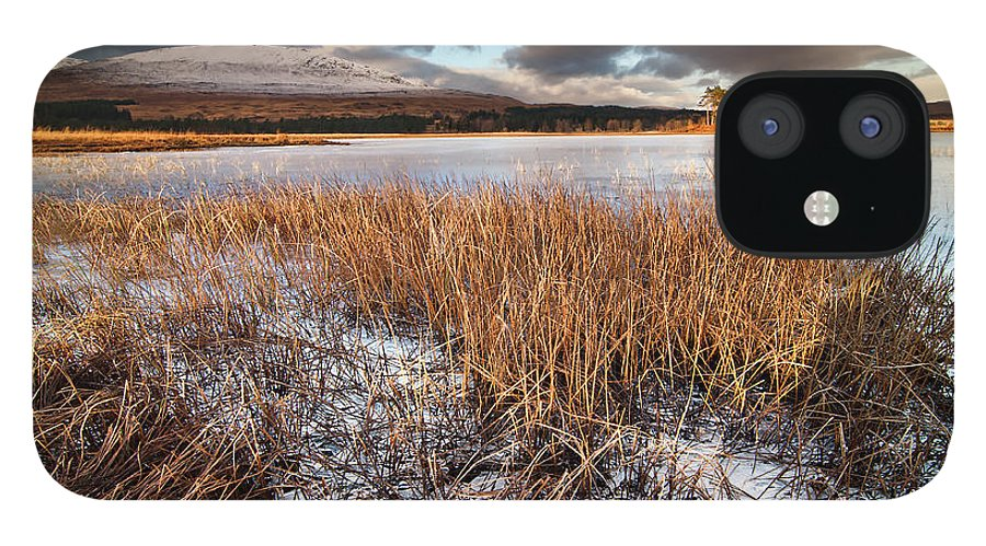 Tranquility iPhone 12 Case featuring the photograph Loch Tulla by Image By Peter Ribbeck
