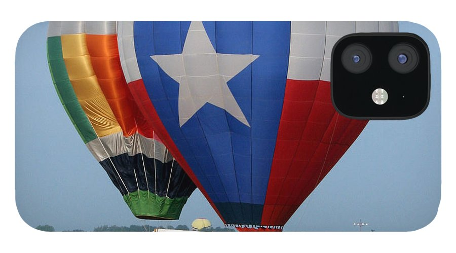 Balloons iPhone 12 Case featuring the photograph Lone Star Pride by Paul Anderson