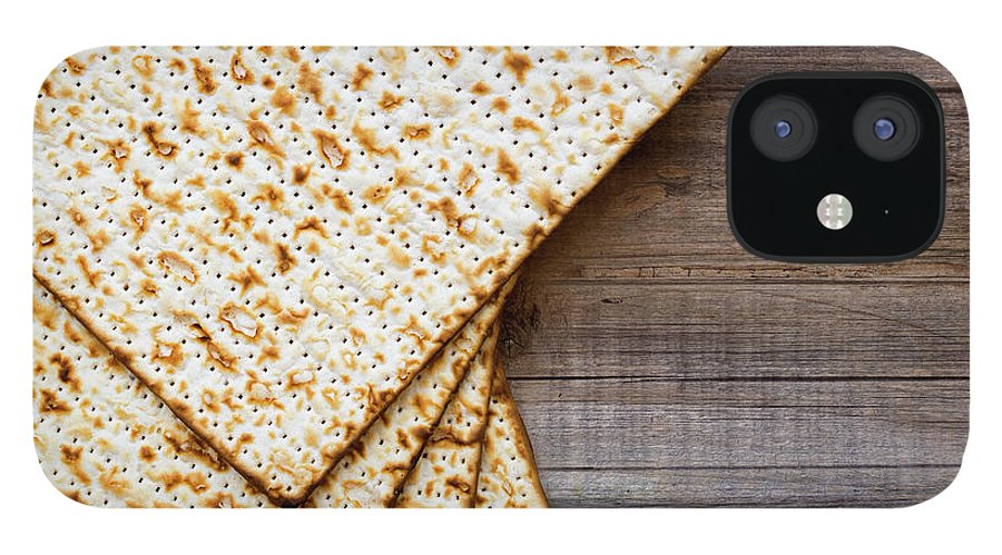 Celebration IPhone 12 Case featuring the photograph Matza Background by Vlad Fishman