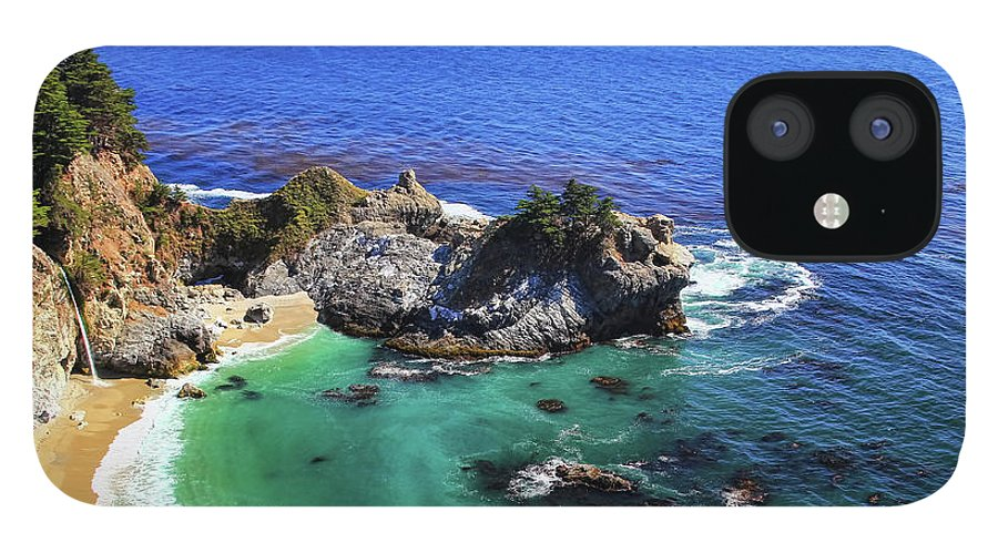 Scenics IPhone 12 Case featuring the photograph Mcway Falls by David Toussaint