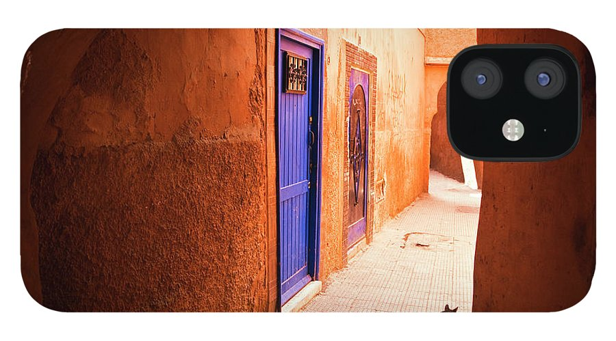 Arch IPhone 12 Case featuring the photograph Medina Of Marrakesh by Moreiso