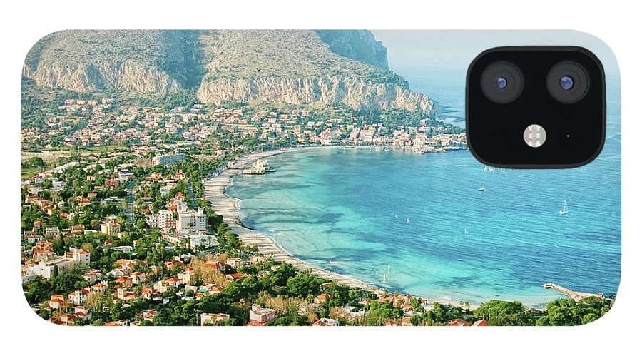 Sicily IPhone 12 Case featuring the photograph Mediterranean View by Peeterv