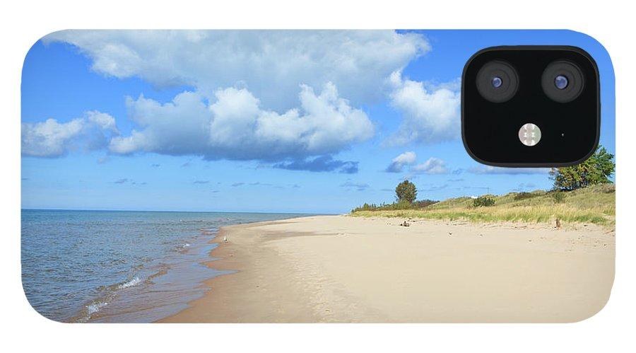Lake Michigan IPhone 12 Case featuring the photograph Michigan Lake Shore by Espiegle