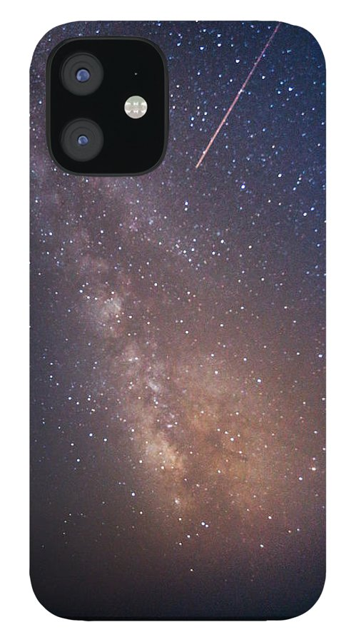 Majestic IPhone 12 Case featuring the photograph Milky Way by Luca Libralato Photography