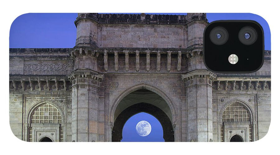 Arch IPhone 12 Case featuring the photograph Monument Entrance by Grant Faint