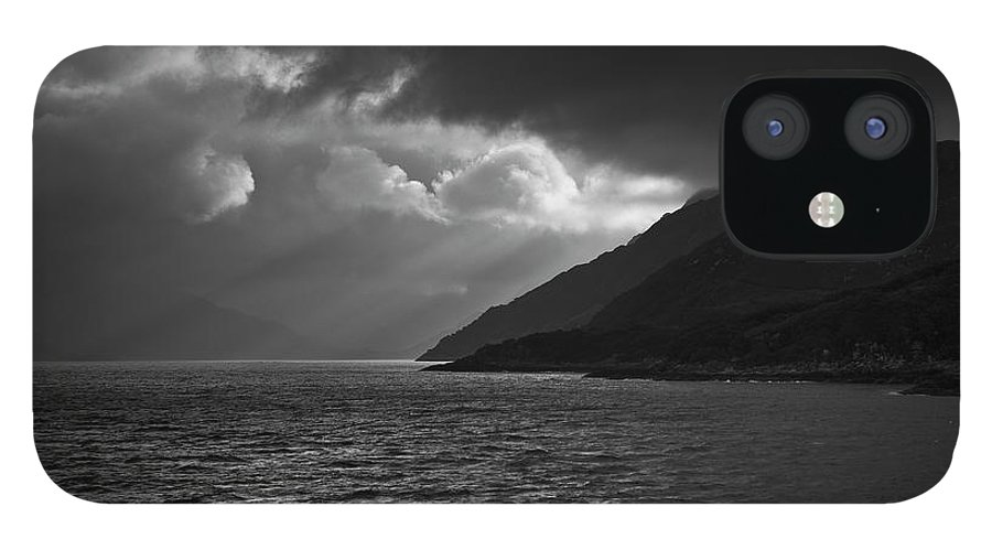 Scenics IPhone 12 Case featuring the photograph Moody Scottish Weather by Charles Briscoe-knight