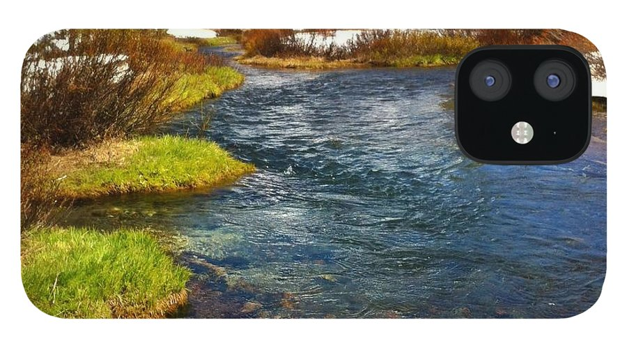 Scenics iPhone 12 Case featuring the photograph Mountain Creek by Andipantz