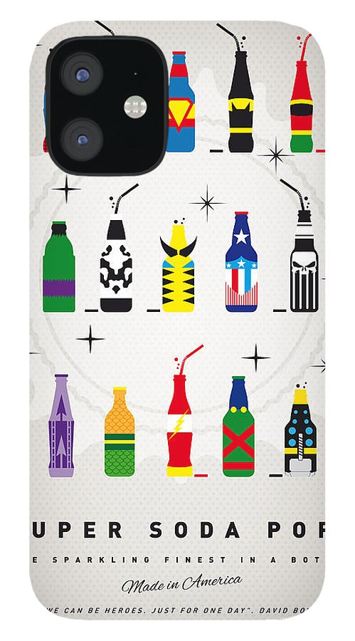 Icepops IPhone 12 Case featuring the digital art My SUPER SODA POPS No-00 by Chungkong Art