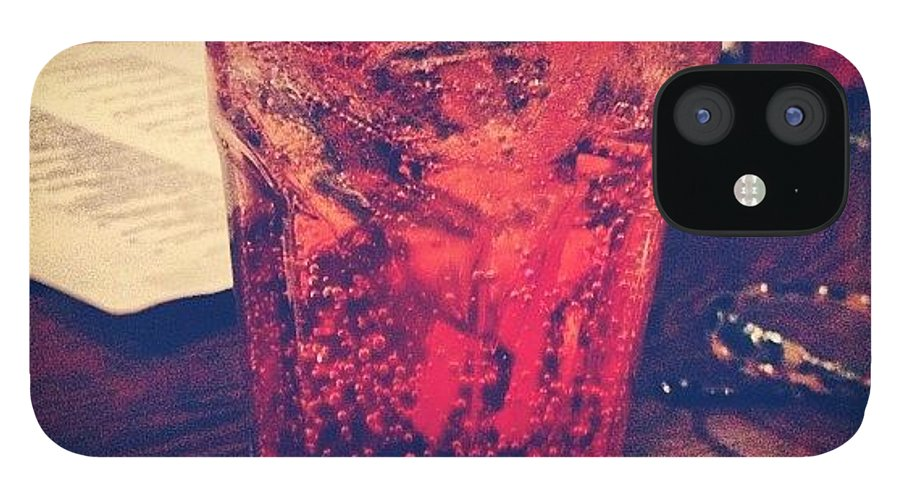 IPhone 12 Case featuring the photograph Never Too Old For A Shirley Temple by Jordan Weaver