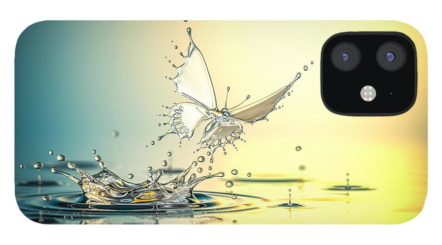 Spray iPhone 12 Case featuring the photograph New Life by Blackjack3d
