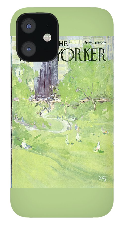 New Yorker April 24th, 1971 IPhone 12 Case