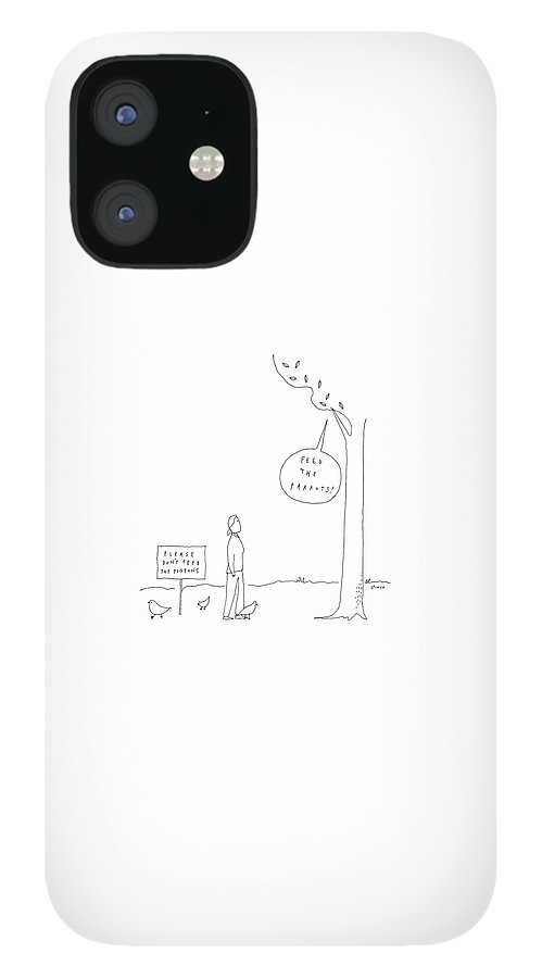 New Yorker April 3rd, 2017 IPhone 12 Case