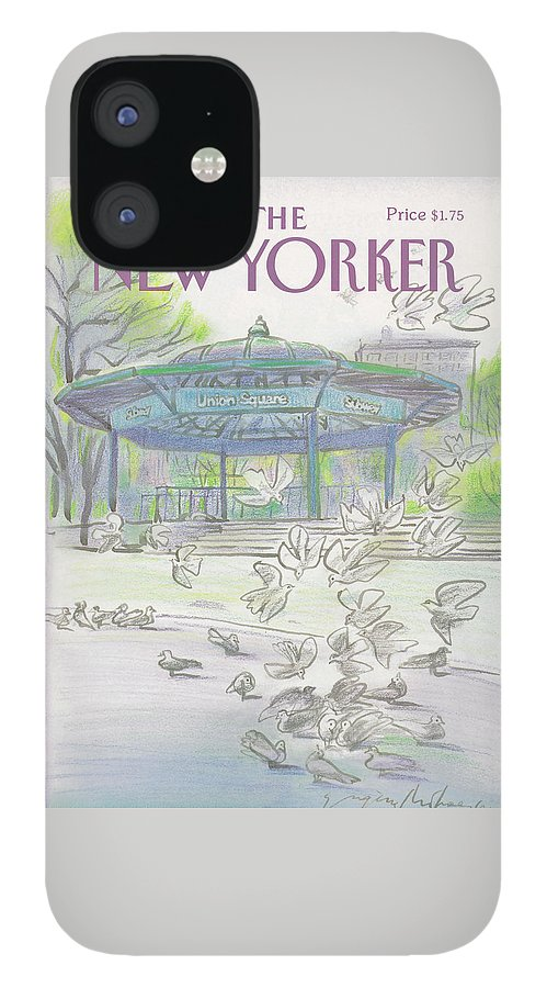 New Yorker April 6th, 1987 IPhone 12 Case