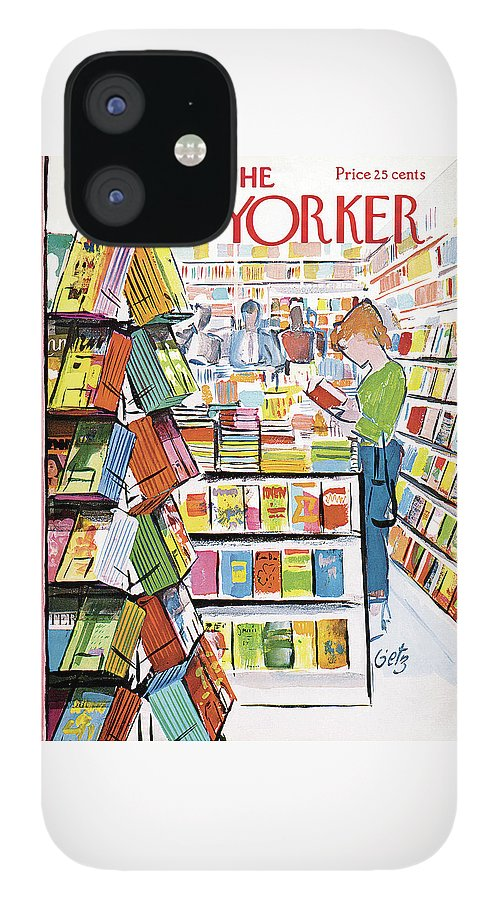 New Yorker August 11th, 1962 IPhone 12 Case