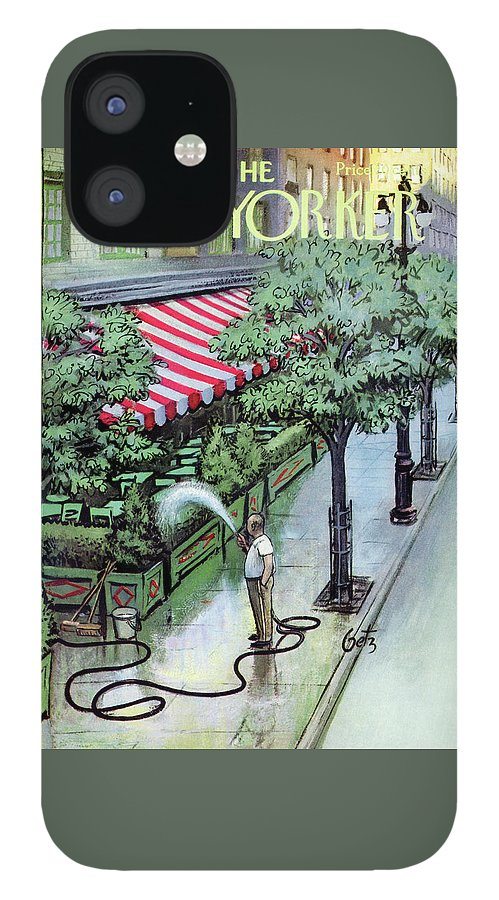 New Yorker August 27th, 1955 IPhone 12 Case