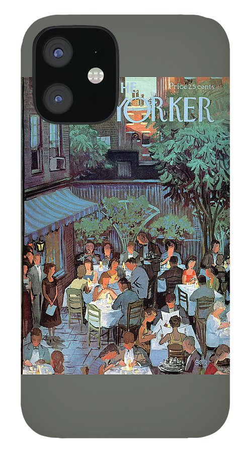 New Yorker August 2nd, 1958 IPhone 12 Case