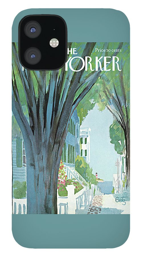 New Yorker August 30th, 1969 IPhone 12 Case