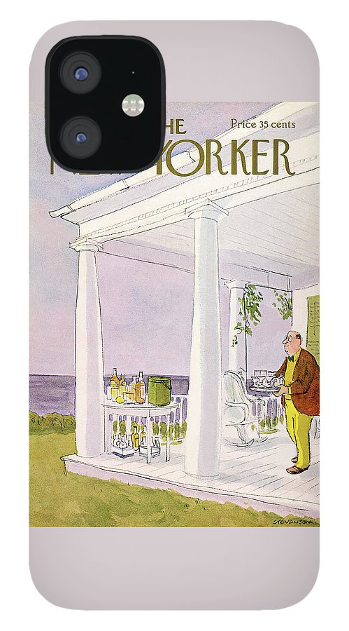 New Yorker August 31st, 1968 IPhone 12 Case