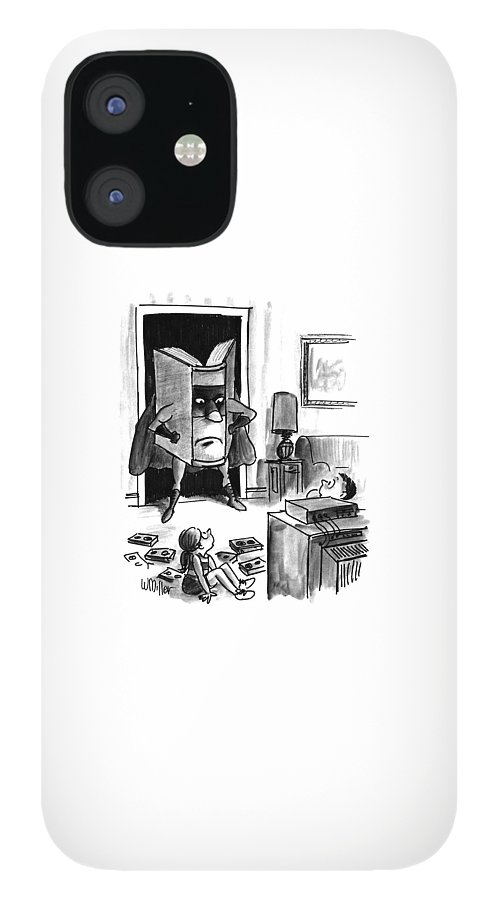 New Yorker August 3rd, 1992 IPhone 12 Case