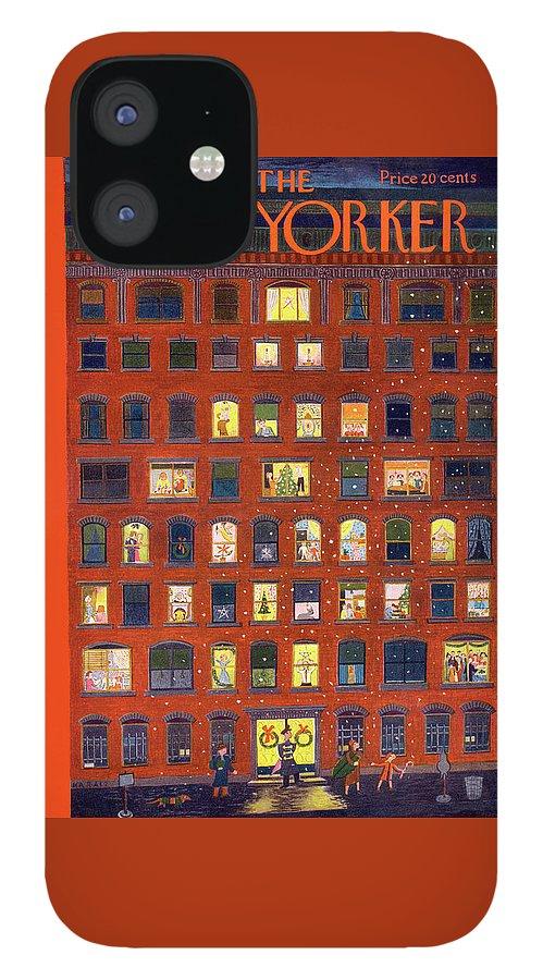 New Yorker December 26, 1953 IPhone 12 Case