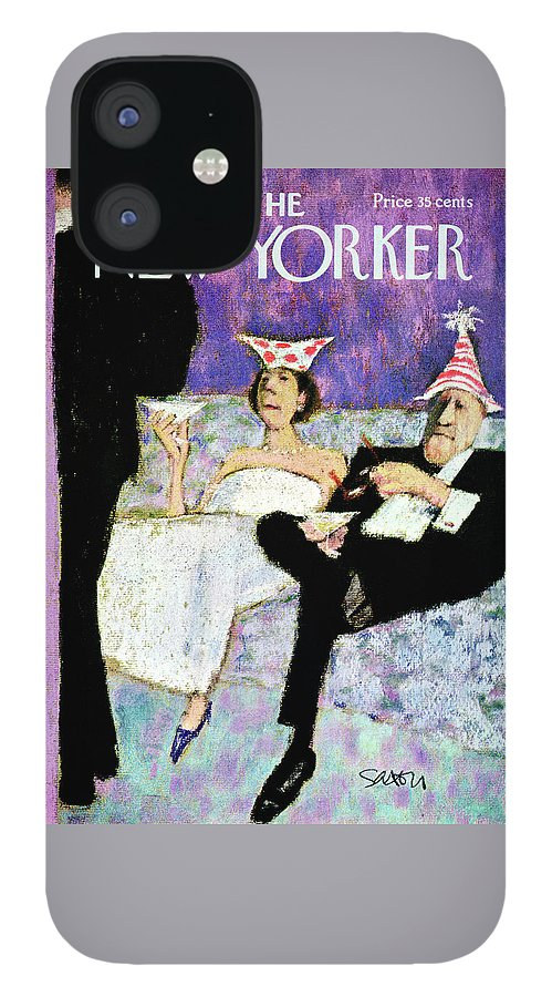 New Yorker December 31st, 1966 IPhone 12 Case