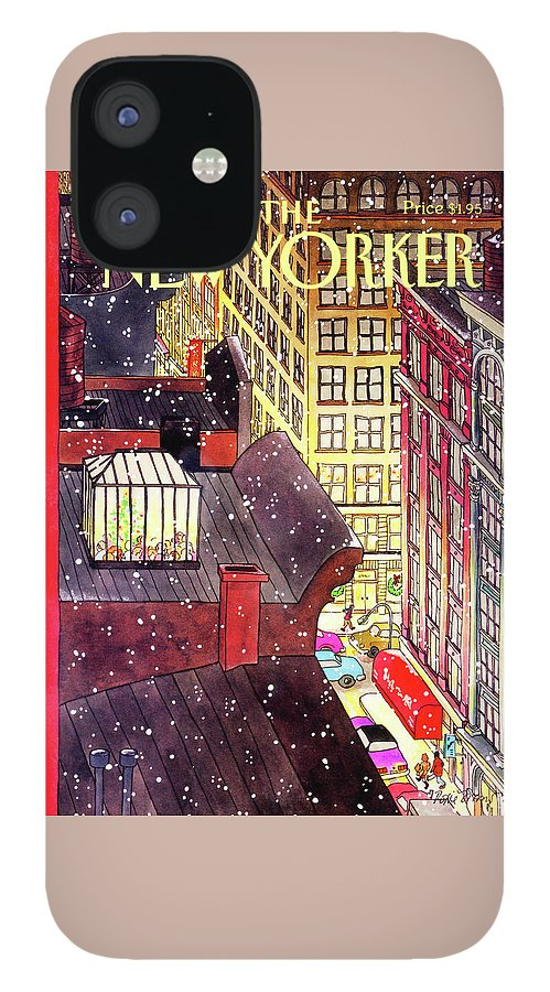 New Yorker December 7th, 1992 IPhone 12 Case