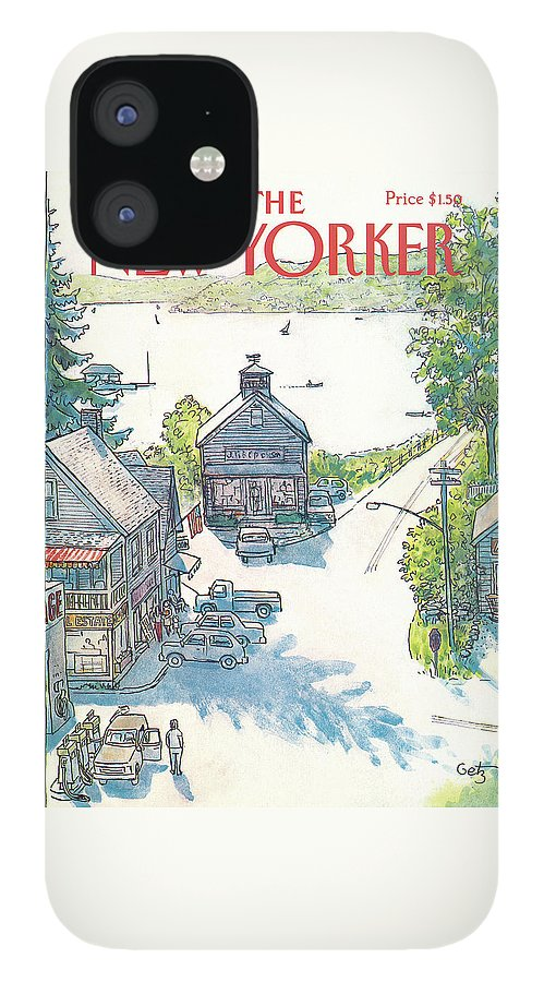 New Yorker July 4th, 1983 IPhone 12 Case