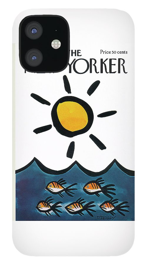 New Yorker June 10th, 1972 IPhone 12 Case
