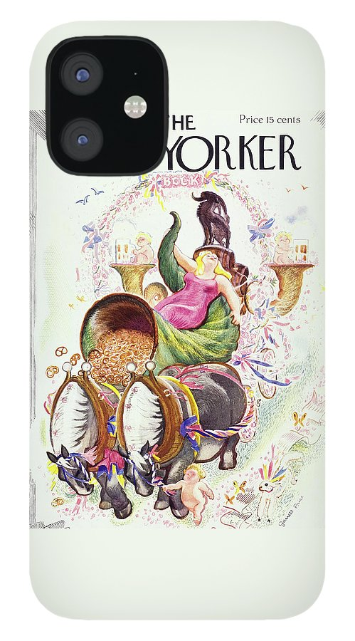 New Yorker March 12 1938 IPhone 12 Case