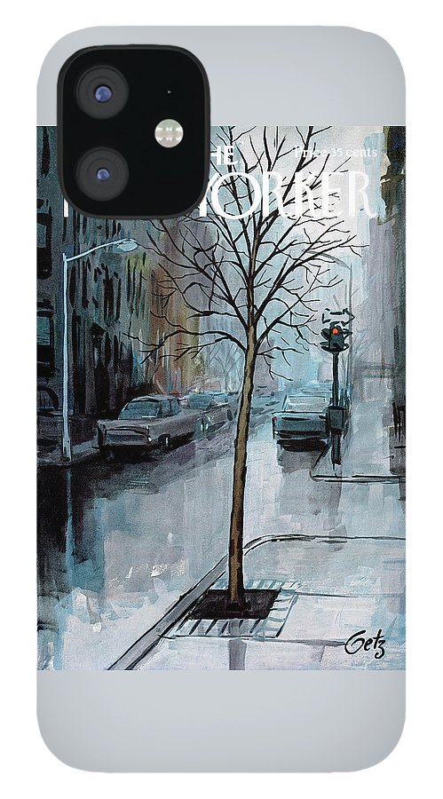 New Yorker March 12th, 1966 IPhone 12 Case