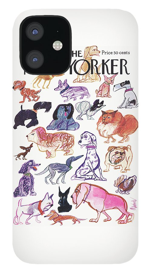 New Yorker March 21st, 1970 IPhone 12 Case