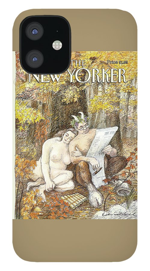 New Yorker October 4th, 1993 IPhone 12 Case