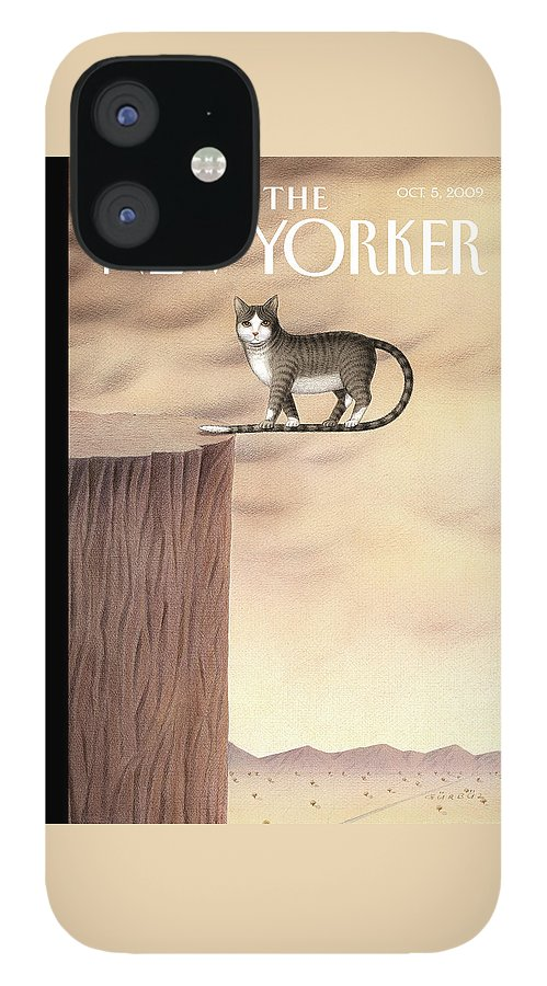 On The Edge IPhone 12 Case