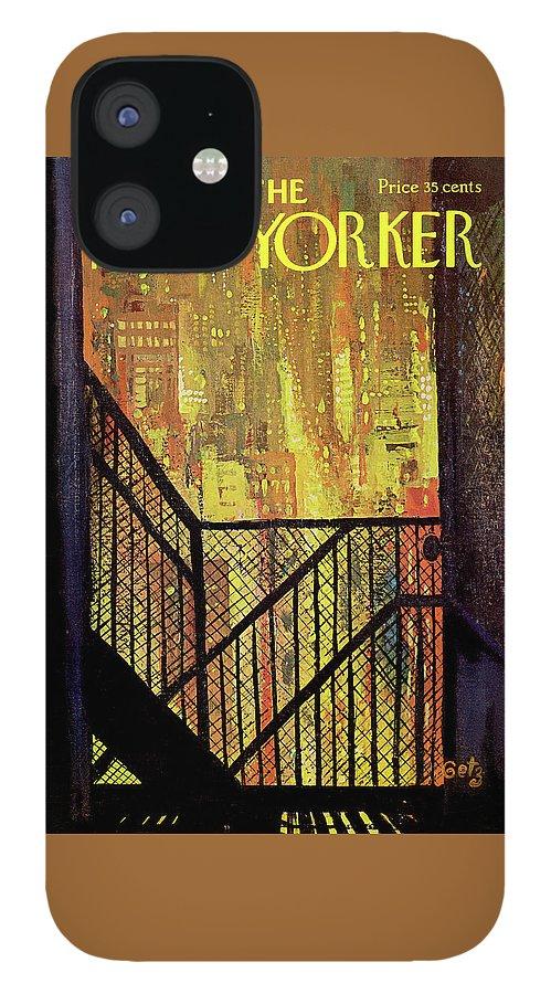 New Yorker September 21st, 1968 IPhone 12 Case