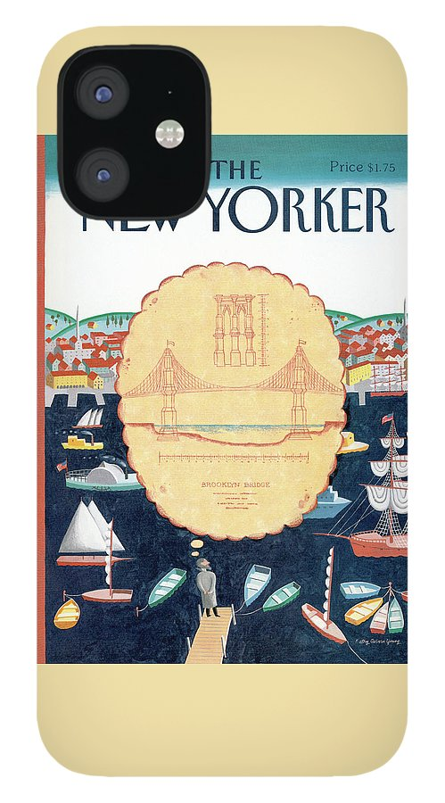 New Yorker September 9th, 1991 IPhone 12 Case