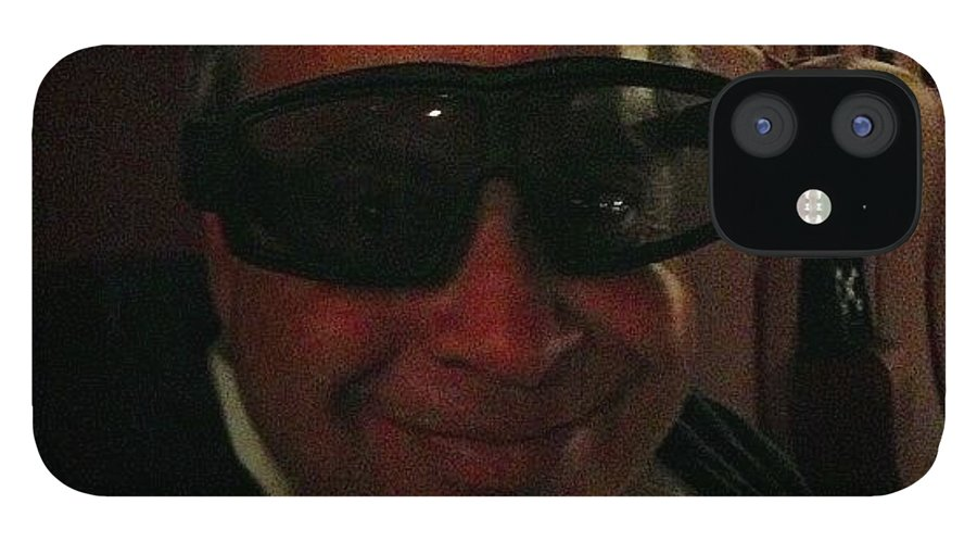 IPhone 12 Case featuring the photograph No. It's Not Jack Nicholson. It's by Gail Illman