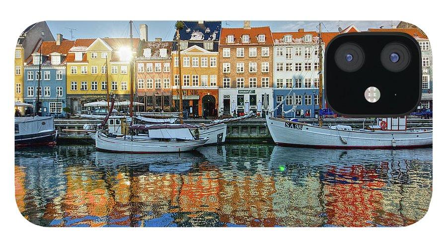 Copenhagen IPhone 12 Case featuring the photograph Nyhavn, Copenhagen, Denmark by Kateryna Negoda