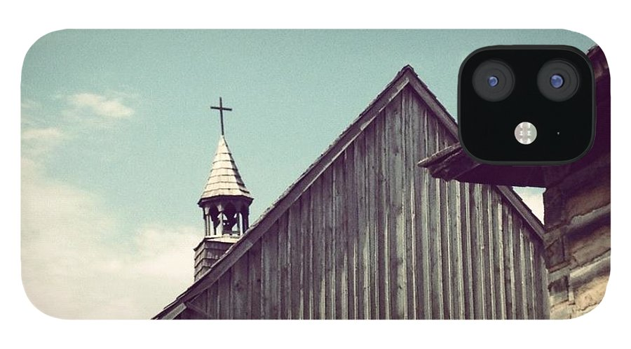 Church IPhone 12 Case featuring the photograph Old Time Religion by Christy Beckwith
