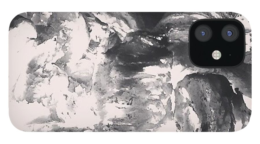 Fire IPhone 12 Case featuring the photograph On Fire by Illusorium Illustration