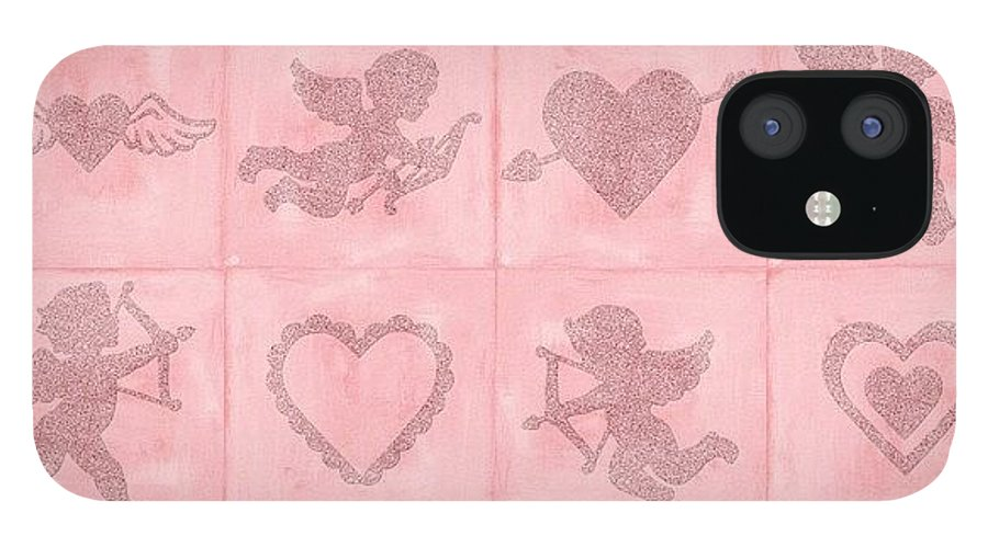 Pink IPhone 12 Case featuring the photograph #ontheblogtoday Twelve Little #digital by Teresa Mucha