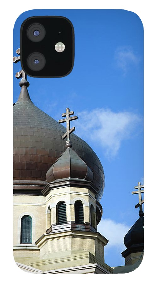 Outdoors iPhone 12 Case featuring the photograph Orthodox Church by Snap Decision