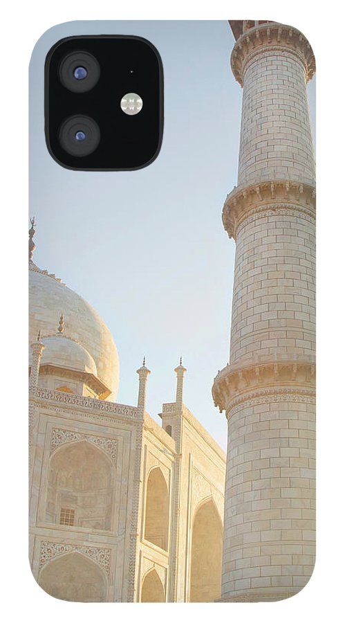 Arch IPhone 12 Case featuring the photograph Partial View Taj Mahal by Grant Faint