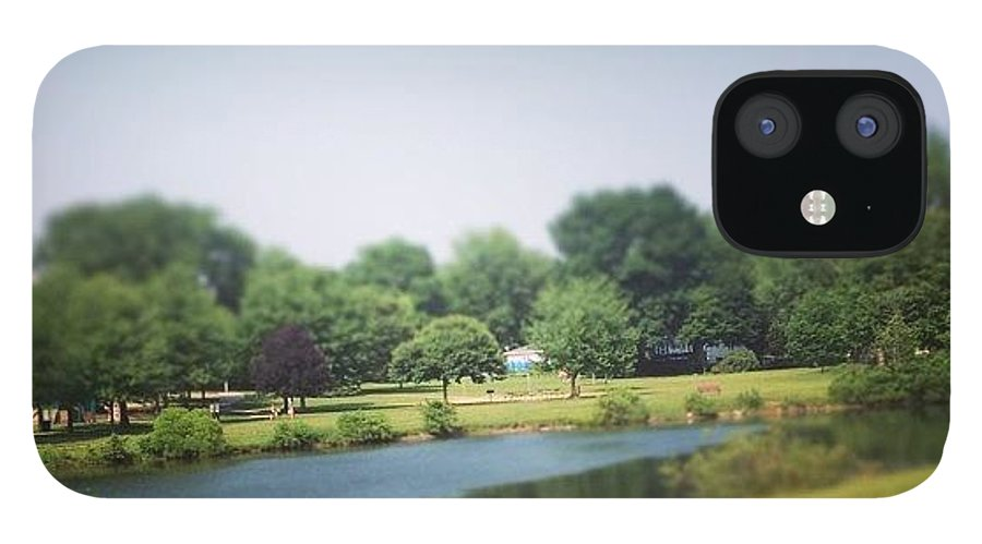 Landscape IPhone 12 Case featuring the photograph Perfect Park Afternoon by Christy Beckwith