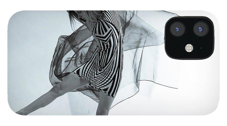 Ballet Dancer IPhone 12 Case featuring the photograph Photofusion Shoot Jan 2013 by Maya De Almeida Araujo