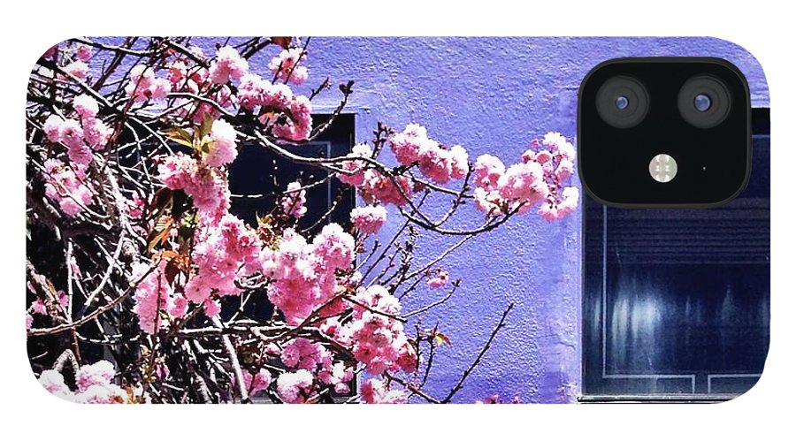 Flowers IPhone 12 Case featuring the photograph Pink Flowers by Julie Gebhardt