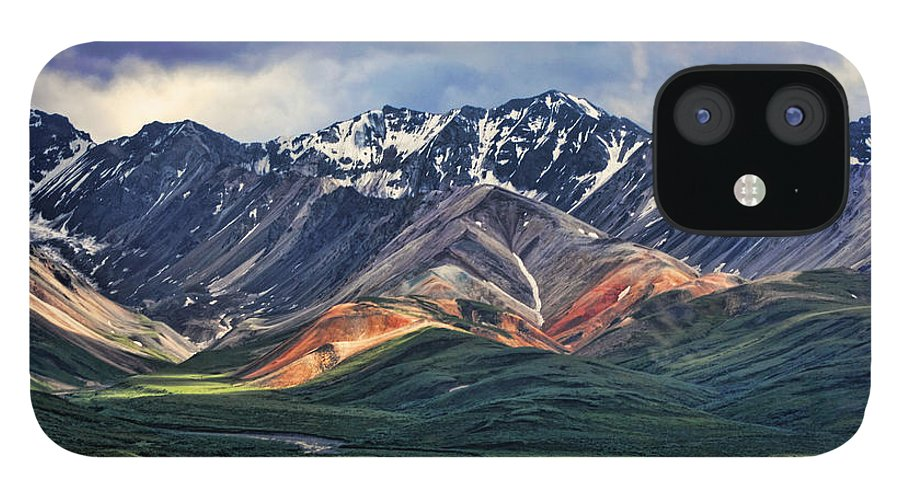 Polychrome IPhone 12 Case featuring the photograph Polychrome by Heather Applegate