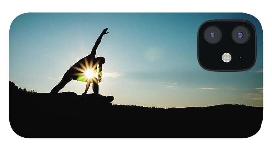 Funky iPhone 12 Case featuring the photograph Reach For The Sky by Subman