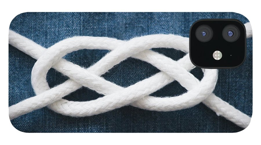 Security IPhone 12 Case featuring the photograph Reef Knot by Jamie Grill